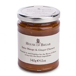The House Of Bruar Spicy Mango And Ginger Chutney 340g