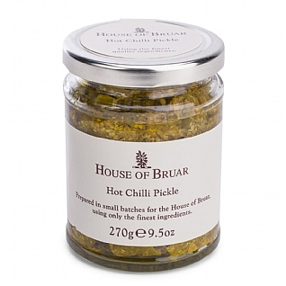The House Of Bruar Hot Chilli Pickle 270g