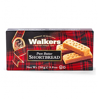 Walker's Pure Butter Shortbread Box 250g