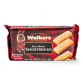 Walker's Pure Butter Shortbread 160g