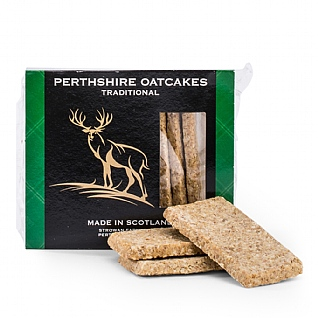 Perthshire Oatcakes' Traditional Oatcakes 150g