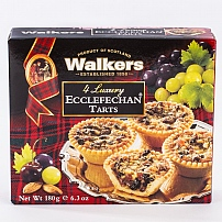 Walker's Four Luxury Ecclefechan Tarts