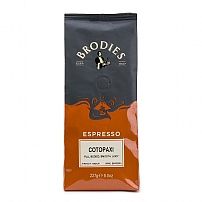 Brodies of Edinburgh's Cotopaxi Ground Coffee