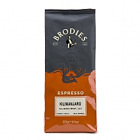 Brodies of Edinburgh's Kilimanjaro Ground Coffee