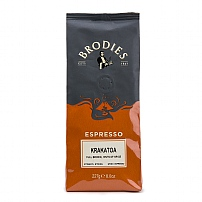 Brodies of Edinburgh's Krakatoa Ground Coffee