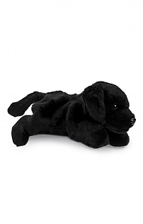 Full-Bodied Black Labrador Puppet