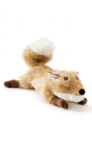 Large Fox Squeaker Dog Toy