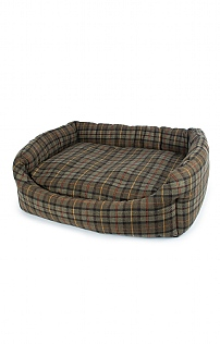 Large Tweed Dog Bed