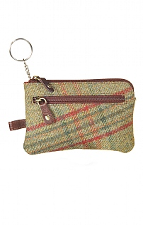 Tweed Key Purse