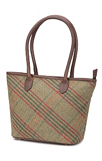 Tweed Faye Tote Bag