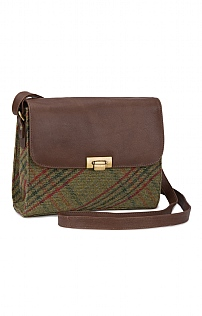 Tweed Heather Cross Body Bag