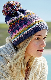 Ladies Wool Bobble Beanie