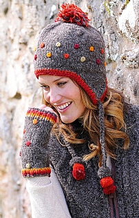 Ladies Wool Handwarmer