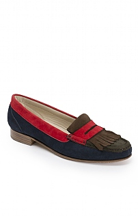 Fringed Suede Loafer