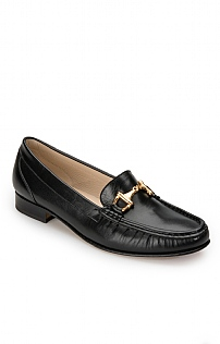 Soft Leather Snaffle Loafer