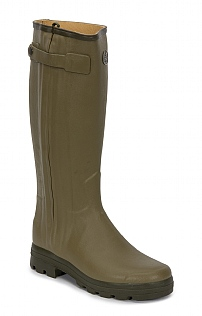 Le Chameau Leather Lined Wellies