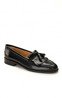 Ladies Leather Tassel Loafer