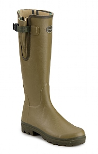Ladies Cotton Lined Gusset Welly
