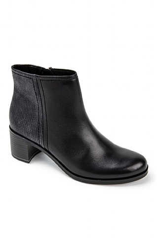 Marco Tozzi Mid Heel Ankle Boot
