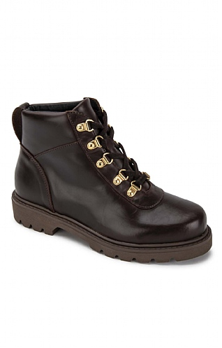 Leather Walking Boot