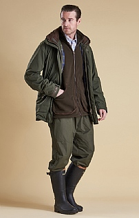 Mens Barbour Dunnock Waterproof Trousers