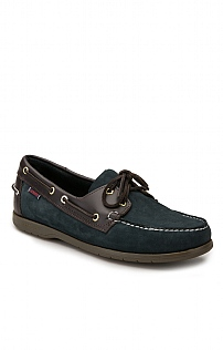 Sebago Leather Trim Boat Shoe