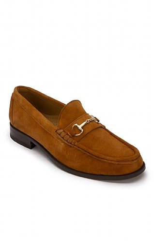 Men's Deerskin Snaffle Loafer