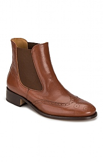 House of Bruar Brogue Chelsea Boot