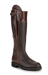 Ladies Waterproof Tassel Riding Boot