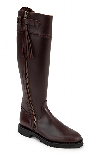 Chunky Sole Riding Boot