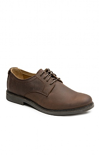 Mens Sebago Leather Plain Shoe