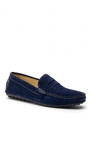 Men's Suede Driving Loafer