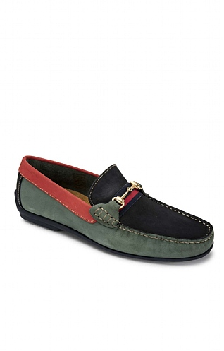 Three Colour Snaffle Loafer