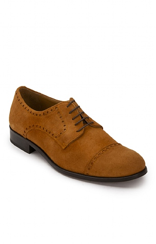 Men's Deerskin Brogue Shoe