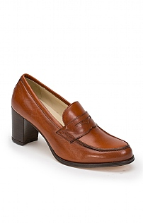 High Heel Penny Loafer
