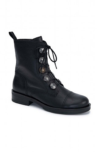 Gabor Coin Lace Up Boot