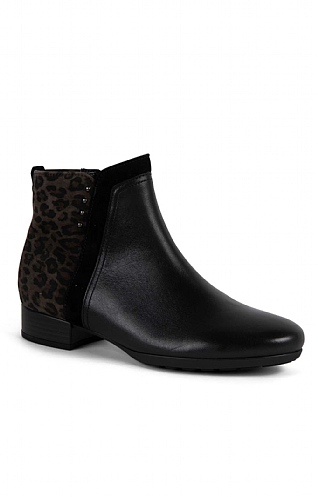 Gabor Animal Back Ankle Boot