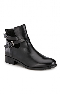 Ladies Strap Ankle Boot