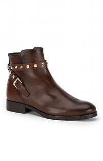 Stud Strap Ankle Boot