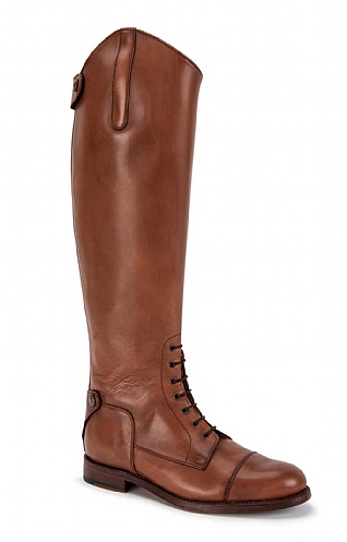 Lace-Front Riding Boot