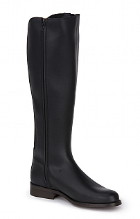 Elastic-Back Riding Boot