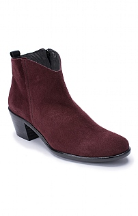 Classic Suede Ankle Boot