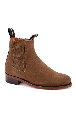 Ladies Short Suede Boot - House of Bruar