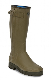 Mens Full Zip Neoprene Welly