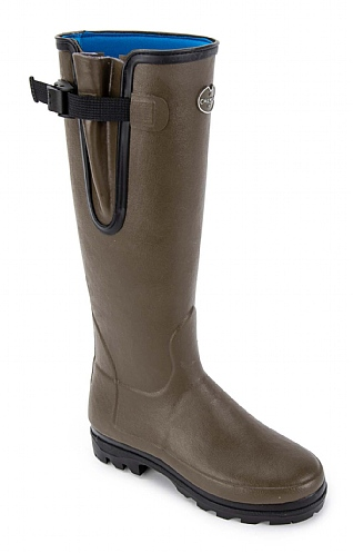 Ladies Gusset Neoprene Lined Welly