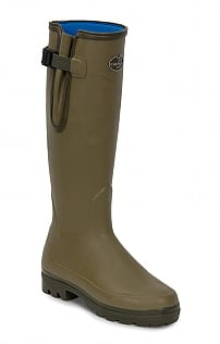 Le Chameau Gusset Neoprene Lined Wellies