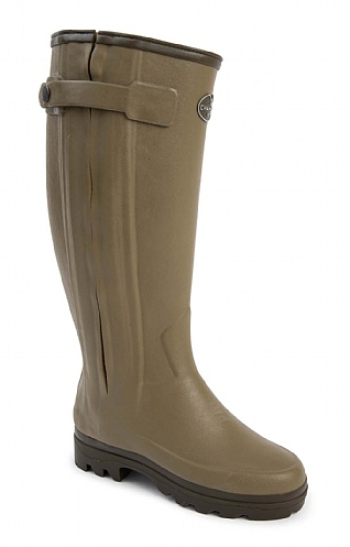 Ladies Full Zip Neoprene Lined Welly