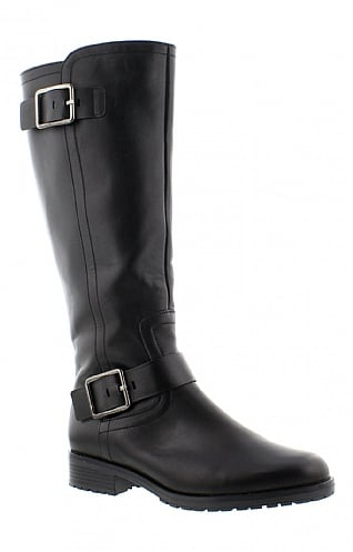 Gabor Double Buckle Long Boot