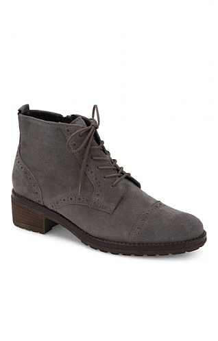 Gabor Lace Up Brogue Boot