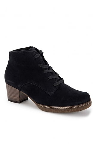 Gabor Heeled Lace Up Boot